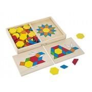 Sablon 29 - Melissa & Doug - Puzzle con figuras geométricas [importado de Alemania]