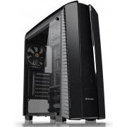 Thermaltake Versa N27 Mid Tower Computer Case with Full Side Window - Black
