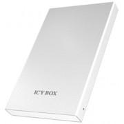Carcasa externa HDD Icy Box External 2,5'' SATA to 1xUSB 3.0, alba