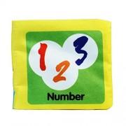 Malloom® blando libro de tela, Bebé Desarrollo de Inteligencia Aprender y leer (numbers)