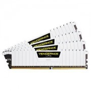 Mémoire RAM Corsair Vengeance LPX Series Low Profile 64 Go (4x 16 Go) DDR4 2666 MHz CL16 PC4-21300 - CMK64GX4M4A2666C16W
