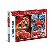 Clementoni 25197. 1-3 x 48 T Classic Puzzle, Cars