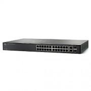 Switch Linksys SLM224GT-EU, 24 Porturi 10/100, 2 Porturi combo 10/100/1000