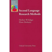Second Language Research Methods by Herbert W. Seliger