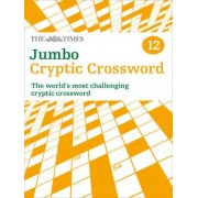 The Times Jumbo Cryptic Crossword: Book 12 by The Times Mind Games