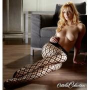 Cottelli - Rácsos, necc szexharisnya (fekete)