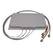 Cisco 2.4 GHz 6 dBi/5 GHz 6 dBi Directional Ant., 4-port, RP-TNC
