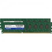 Memorie AData Premier 16GB (2x8GB) DDR3, 1333MHz, PC3-10666, CL9, Dual Channel Kit, AD3U1333W8G9-2