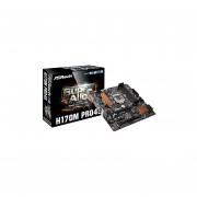 ASROCK H170M PRO4S Socket 1151 DDR4 HDMI PS2 USB3.0