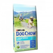 DOG CHOW PUPPY LARGE BREED PULYKA 14KG
