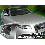 Deflektory komplet 4 ks pre AUDI A4 - kombi, 2009-2015
