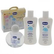 Chicco baby moments set confezione bagnoschiuma 200 ml - shampoo 200 ml - acqua di colonia 100ml