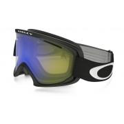 Oakley O2 Xl - Matte Black w/HIYel&Dk.Grey - Wintersport Eyewear