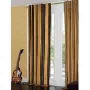 "Vorhang ""Roma"", 1 Vorhang, 142 x 280 cm - Gold/Braun"