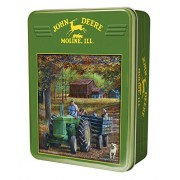 MasterPieces John Deere Tin Ride Along Puzzle 1000 Piece
