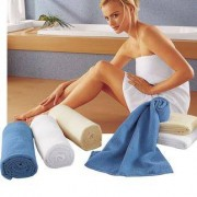 Hightech Hand- oder Badetücher, Weiss - Badetuch
