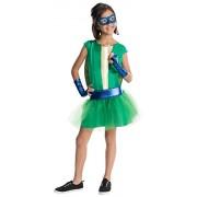 Rubies Teenage Mutant Ninja Turtles Deluxe Leonardo Tutu Dress Costume, Child Large