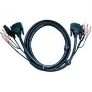 KVM kábel DVI DUAL LINK 1,8 m, 2L7D2UD (1013053)