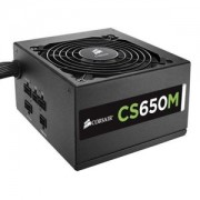 Sursa Corsair CS 650W, semi-modulara, 80 Plus Gold, PFC Activ, CS650M