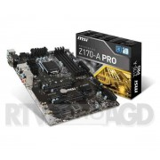 MSI Z170-A PRO - dostępne w sklepach