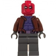 Lego Custom Printed Red Hood Minifig DC Batman Super Hero Villain Jason Todd