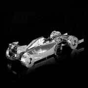 F1 estilo DIY 3D ferrari rompecabezas de juguete creativo - plata