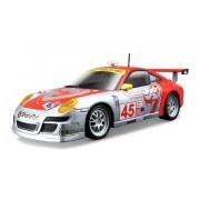 Bburago 1:24 Porsche 911 GT3 RSR, Silver/Red