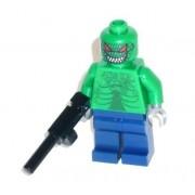 Batman Figura Custom Asesino Croc Nuevo piezas de LEGO