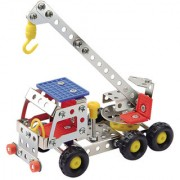 Magideal Metal Crane DIY Toy Assembly Model Kit Construction Truck D