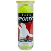 SportX Tennisballen (3 Stuks)
