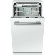 Miele G4780SCVi CleanSteel Built In Fully Int. Slimline Dishwasher - Stainless Steel