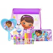 Disney Doc McStuffins Beauty Set, Lip Stick and Mirror, PLUS Doc McStuffin Bag