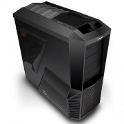 Zalman Z11 Midi-Tower PC (ATX, 4x 5,25 externe, 5x 3,5 interne, 4x USB 2.0) nero