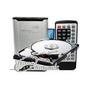 LETTORE HDD PLAYER MULTIMEDIALE PER VEDERE FILM DIVX, MP3, MP4, OTG CON HARD DISK 320 GB