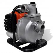 vidaXL Бензинова моторна помпа за поливане 2-тактова 1,25 kW 1,3 л