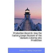 Production Records by Business Training Corporation