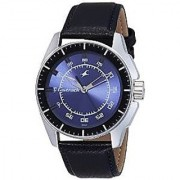 Fastrack Analog Blue Dial Mens Watch - NE3089SL01