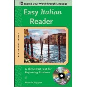Easy Italian Reader w/CD-ROM by Riccarda Saggese