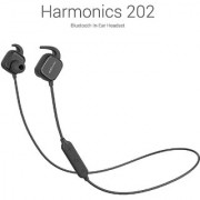 Portronics Harmonics 202 (Black) In-Ear Stereo Headphone With Smart Magnetic-Switch Latest 4.1 Bluetooth In-Line Micro