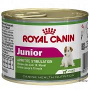 12x195g Mini Junior Royal Canin Hrană umedă câini