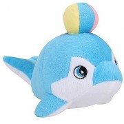 Tickles Blue Penguin With Ball Stuffed Soft Plush Toy 23 cm