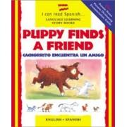 Puppy Finds a Friend/Cachorrito Encuentra Un Amigo by Catherine Bruzzone
