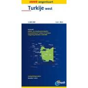 Wegenkaart - landkaart Turkije West | ANWB Media