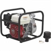 NorthStar Self-Priming Semi-Trash Water Pump - 2 Inch Ports, 10,010 GPH, 5/8 Inch Solids Capacity, 160cc Honda GX160 Engine, Black