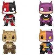 Funko ImPOPster POP Heroes Collectors Set Includes Batgirl Harley Penguin Batman Scarecrow Two-Face