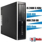 Calculator HP 6200 I5 2400 (6M Cache, pana la 3.4 GHz) 4 GB DDR3 HDD 250 GB DVD-Rom