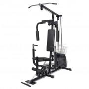 vidaXL Домашен комбиниран фитнес уред с 9 броя тежести