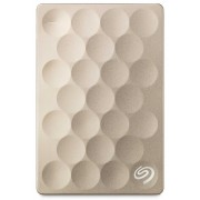 Seagate Backup Plus Ultra Slim Portable Drive 1TB Gold USB 3.0