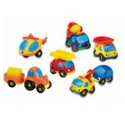 Smoby set de maşinuţe de jucărie 8 buc 211039