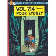 Tintin - Vol 714 Pour Sidney - 4ème Plat B40 - 1973